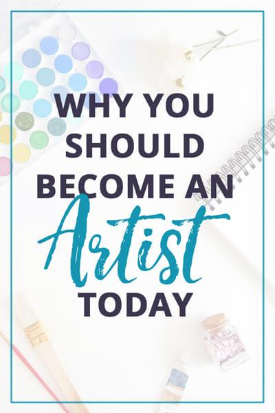 Why you should become anartist today - Painting-Dreamscapes
