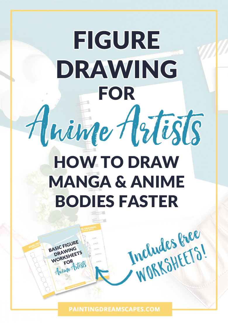 Figure drawing for anime artists - how to draw manga and anime bodies faster