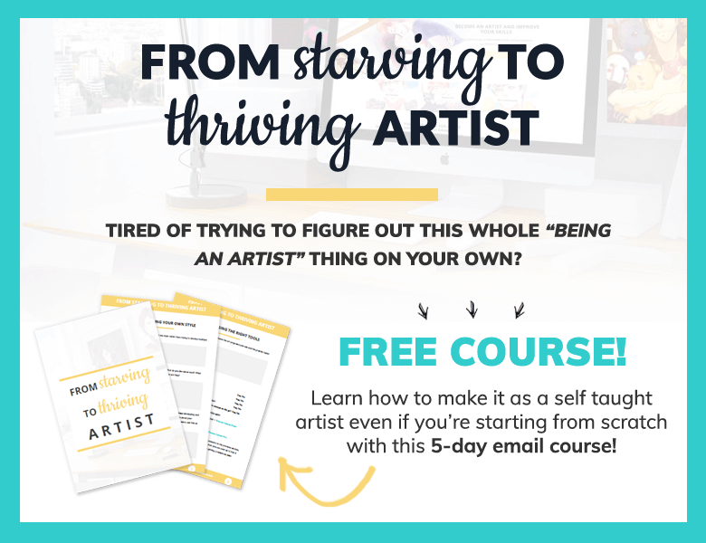 From starving to thriving artist free email course - painting dreamscapes