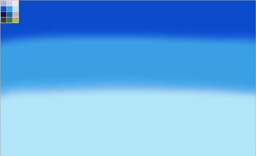 Painting backgrounds - How to paint a sky step 1