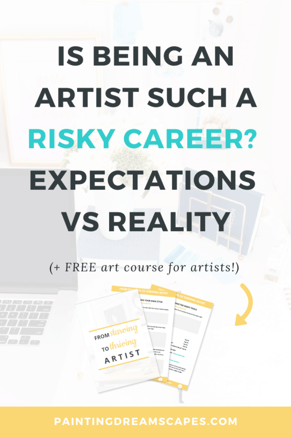 Is being an artist such a risky career cover