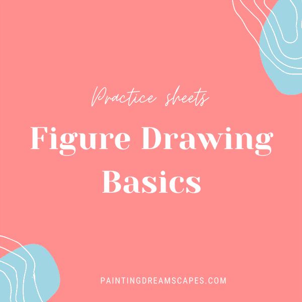 figure drawing basics practice sheets