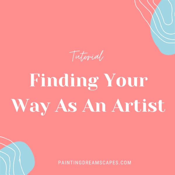 finding your way as an artist workbook