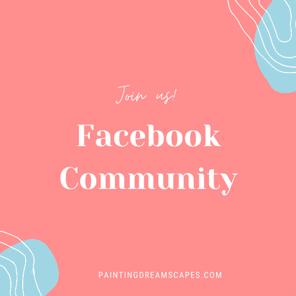 join our facebook community for artists
