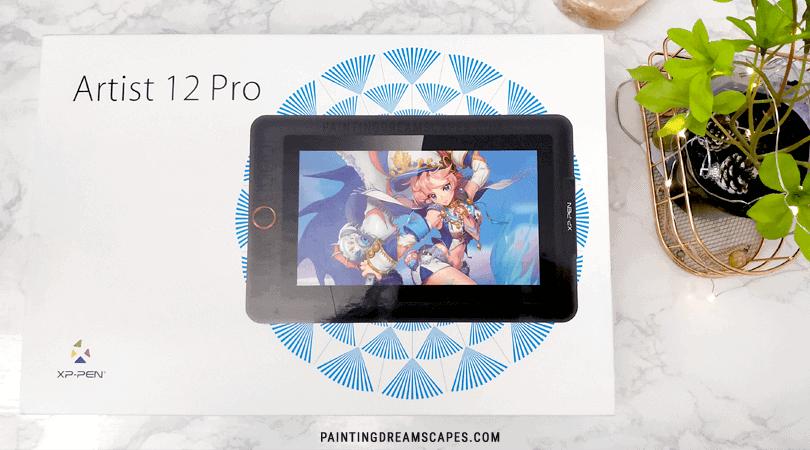 xp-pen artist 12 pro tablet box