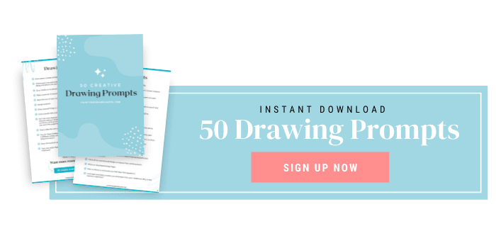 Click here to download a list of 50 creative drawing ideas in PDF format