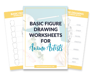 figure drawing for anime artists - how to draw manga and anime bodies faster worksheets